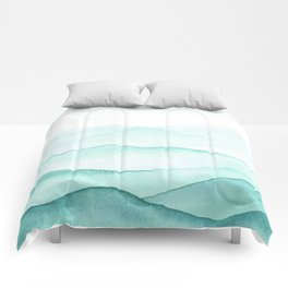 Mint Mountains Comforters