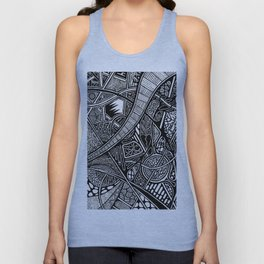 Shhh! They Can Hear Twos Unisex Tank Top