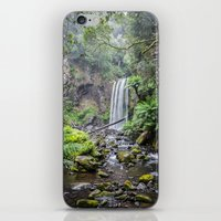 waterfall iPhone & iPod Skins featuring Waterfall by Michelle McConnell