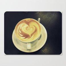 Latte Love ~ coffee Canvas Print