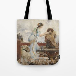 The Hunchback of Notre Dame - Luc-Olivier Merson Tote Bag
