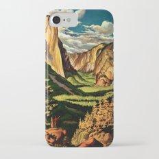 Yosemite National Park - Vintage Travel iPhone 7 Slim Case