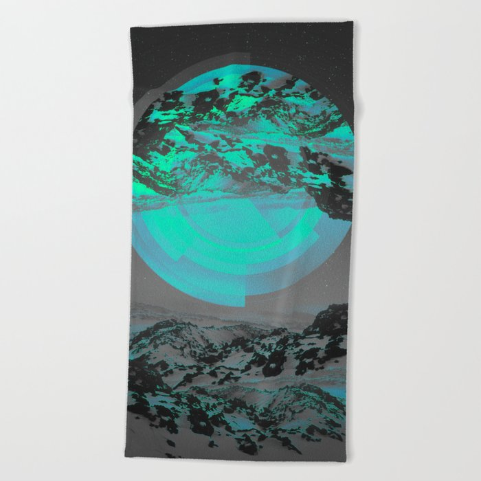 Neither Up Nor Down II Beach Towel
