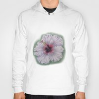 hibiscus Hoodies featuring Hibiscus by Allison Langston