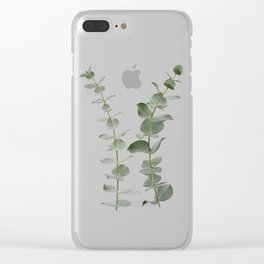 Eucalyptus Branches I Clear iPhone Case