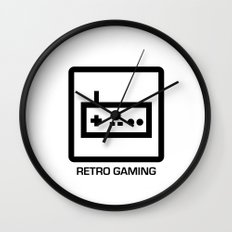 retro gaming Wall Clock