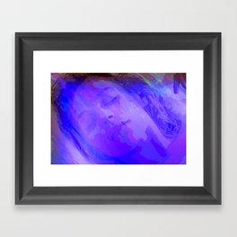 is an teanga a muscle cumhachtach Framed Art Print
