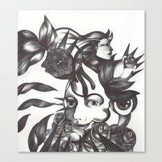 Rosas y espinas Canvas Print