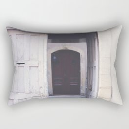 Cottage Doors in Bayeux Rectangular Pillow