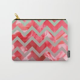 a pink pattern Carry-All Pouch
