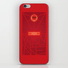 Burn with Me (doctor who) iPhone & iPod Skin