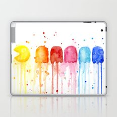 Retro Rainbow Geek Video Game Art Laptop & iPad Skin