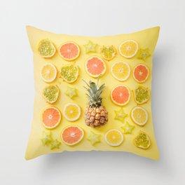 Just Fruity Throw Pillow