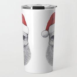 Santa skull Travel Mug