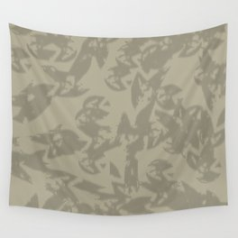 Eagle Taupe Gray Wall Tapestry