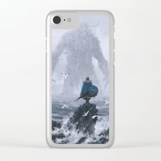 Duel Clear iPhone Case