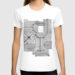 Taiwanese roofscapes 01 T-shirt
