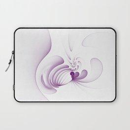 Purple Swirls Laptop Sleeve