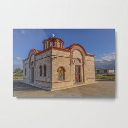 Orthodox Church In Cyprus Metal Print