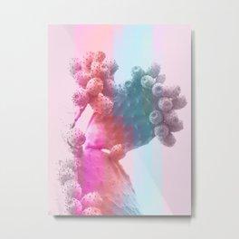 Geo Candy Cactus #decor #lifestyle #buyart Metal Print