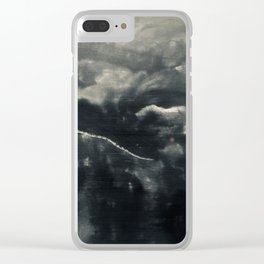 Protector of the Mountain Clear iPhone Case