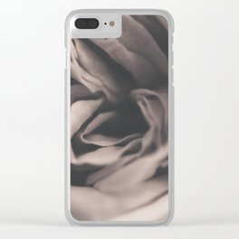 Vintage rose #2 Clear iPhone Case