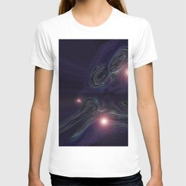 Purple Psychedelic Succulent v.2 T-shirt