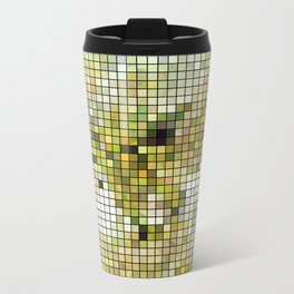 Pale Yellow Poinsettia 1 Mosaic Travel Mug
