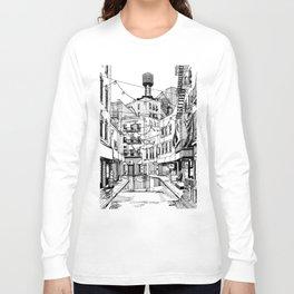 Concrete Jungle (BW) Long Sleeve T-shirt