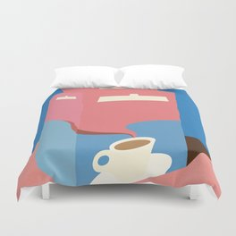 Espresso Crema Duvet Cover