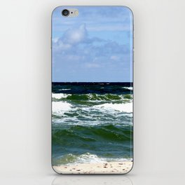 sea calling iPhone Skin