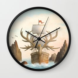 The Antlered Ship_Cover Wall Clock