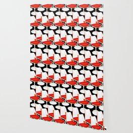 Pop Modern Colour Electric Chair Art Wallpaper