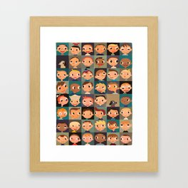 Boyz! Framed Art Print