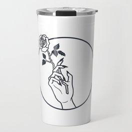 Smokin' Rose Travel Mug