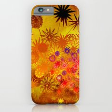 summer flower magic iPhone 6s Slim Case