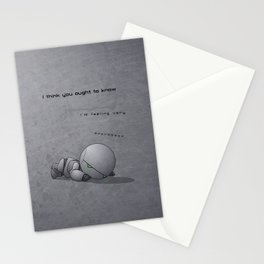 Android Down Stationery Cards