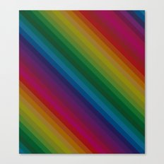 Sophisticated Rainbow Canvas Print