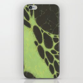 Green Memories iPhone Skin
