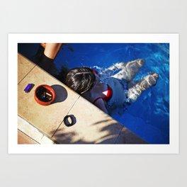 Pool. Alethriko. Art Print