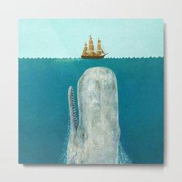The Whale Metal Print
