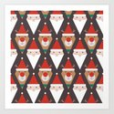 Santa and Rudolph II (Patterns Please) by lalainelim