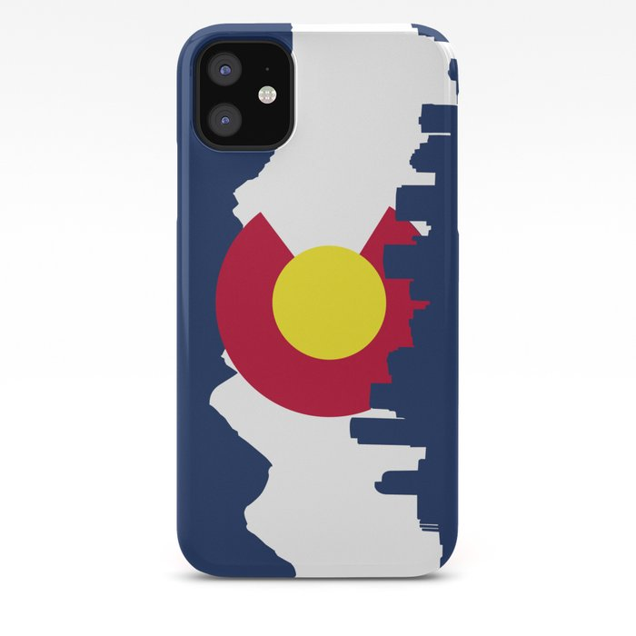 Born and Raised - Colorado iPhone Case