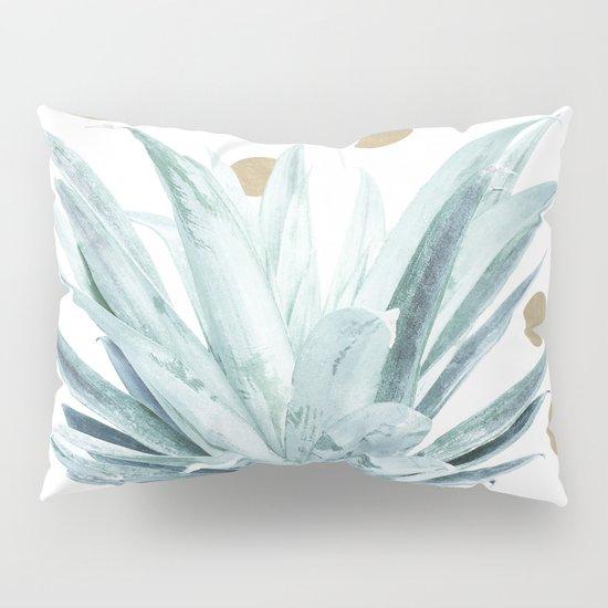 Pineapple crown - gold confetti Pillow Sham