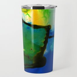 Abstract Bliss 4I by Kathy Morton Stanion Travel Mug