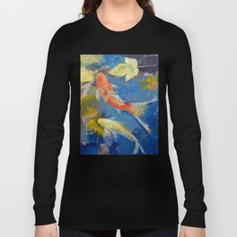 Autumn Koi Garden Long Sleeve T-shirt