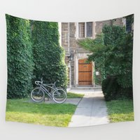 once upon a  time Wall Tapestries featuring Once Upon a Time by Yang Z.