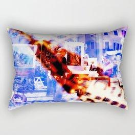 Piazza Navona #2 Rectangular Pillow