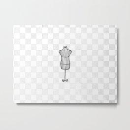'Mannequin' Metal Print