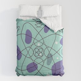 Pattern, wallpaper, forme e colore Comforters